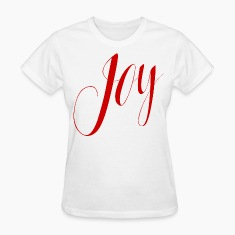 Joy in Red Typography