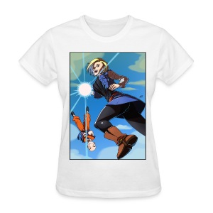 Android 18 female - Women's T-Shirt
