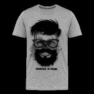 T-Shirts ~ Men's Premium T-Shirt ~ Hipster Is Dead