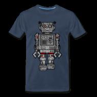 T-Shirts ~ Men's Premium T-Shirt ~ Retro Robot Toys