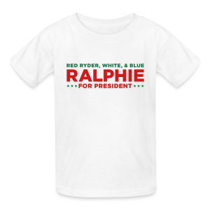 Ralphie for President - Christmas Story - Kids' T-Shirt