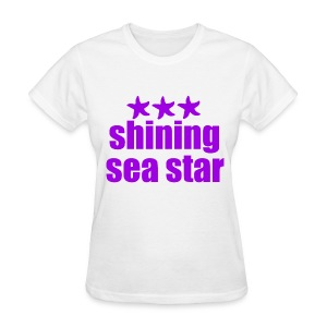 Shining Sea Star Purple - Women's T-Shirt