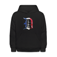 Sweatshirts ~ Kids' Hoodie ~ Detroit Stands With Paris