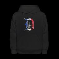 Sweatshirts ~ Kids' Hoodie ~ Detroit Stands With Paris