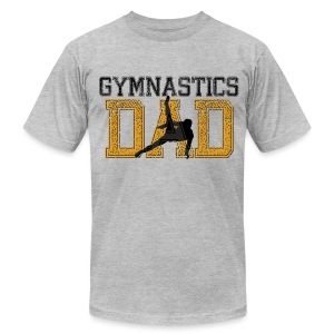 Gymnastics Dad - Men's T-Shirt by American Apparel