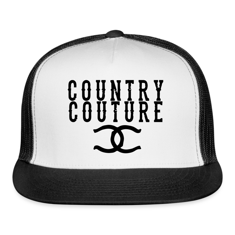 Country Couture Hat - Trucker Cap