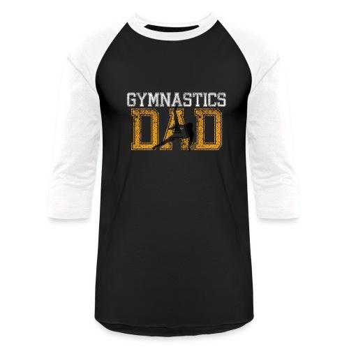 Gymnastics Dad - Baseball T-Shirt