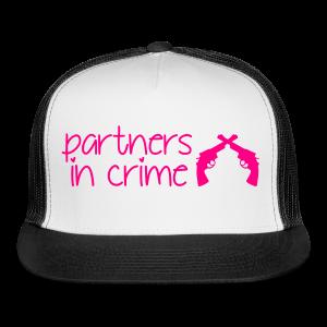 Partners In Crime Hat - Trucker Cap