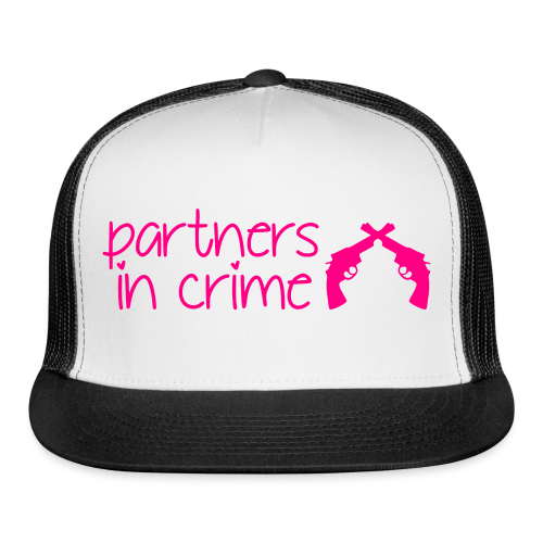 Partners In Crime Hat - Trucker Cap