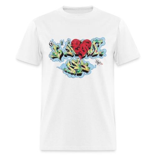 Nover - New York Graffiti Design - Men's T-Shirt