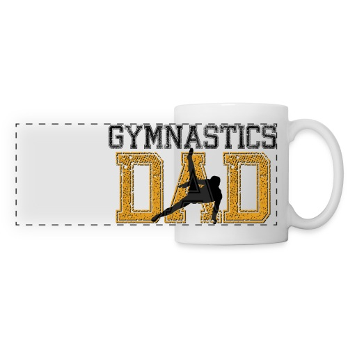 Gymnastics Dad Mug - Panoramic Mug