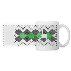 Argyle Gymnast Sweater - Panoramic Mug
