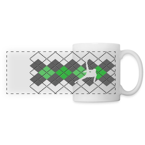 Argyle Gymnast Sweater Mug  - Panoramic Mug