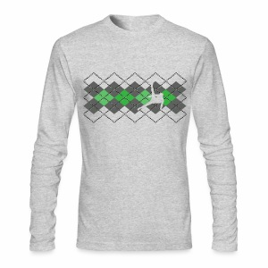 Argyle Gymnast Sweater - Men's Long Sleeve T-Shirt by Next Level