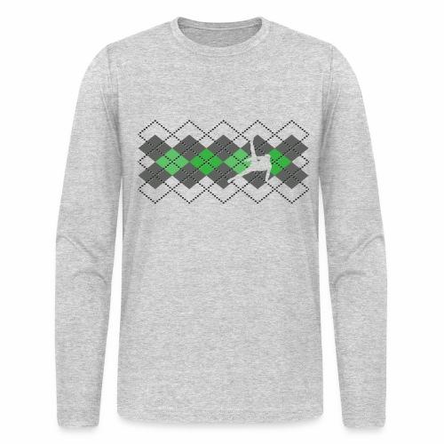 Argyle Gymnast Sweater - Men's Long Sleeve T-Shirt by Next Level