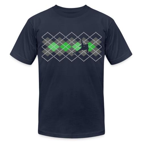 Argyle Gymnast Sweater - Men's Fine Jersey T-Shirt
