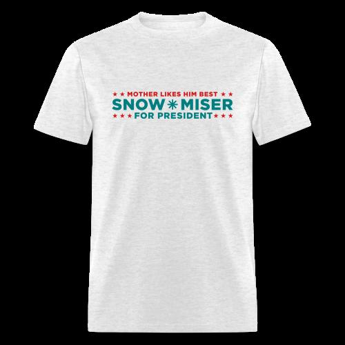 Vote for Snow Miser - Men's T-Shirt