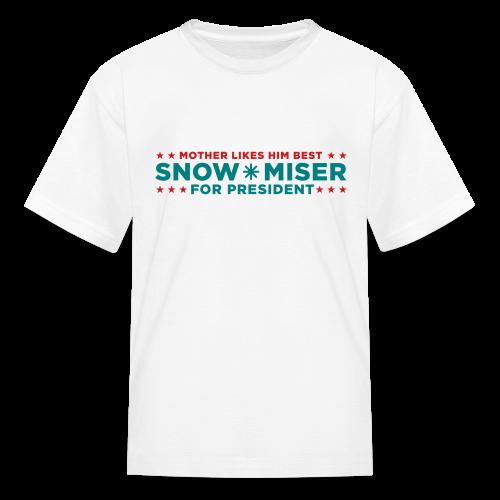 Snow Miser for President! Kids' Shirts - Kids' T-Shirt