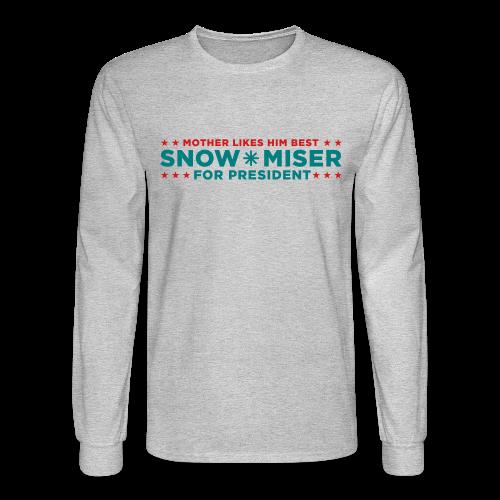 Vote for Snow Miser - Men's Long Sleeve T-Shirt