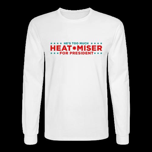 Vote for Heat Miser - Men's Long Sleeve T-Shirt