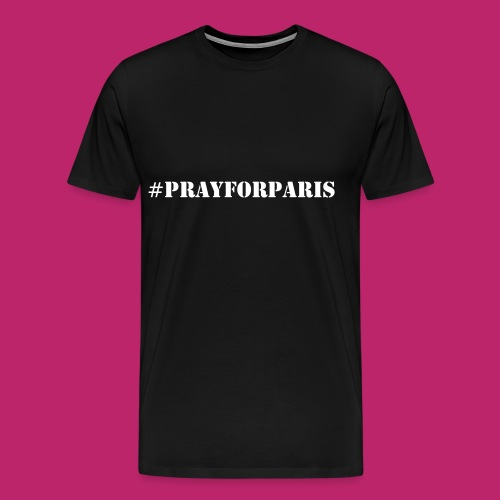 #PrayForParis - Men's Premium T-Shirt