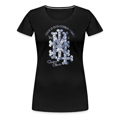 MM LXM MONOGRAM CAMO - Women's Premium T-Shirt