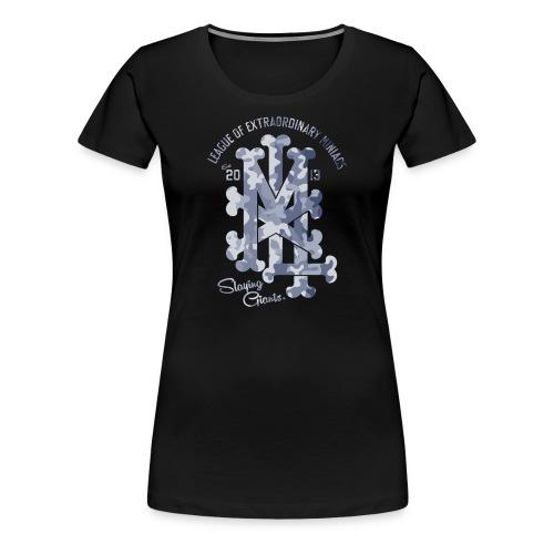 MM LXM MONOGRAM CAMO - Women's Premium T-Shirt