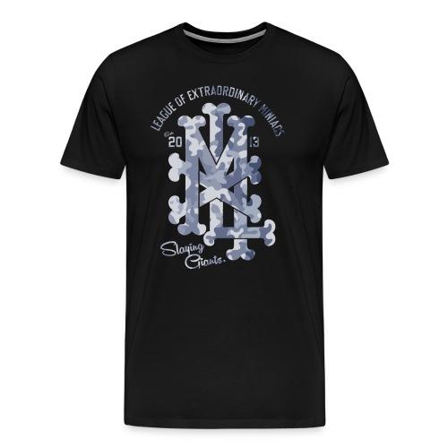 MM LXM MONOGRAM CAMO - Men's Premium T-Shirt
