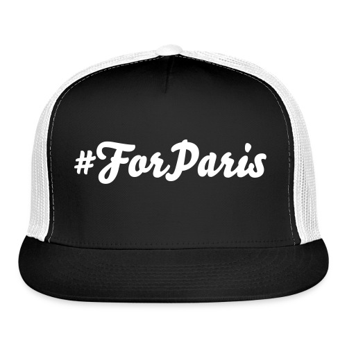Trucker Cap - 100% of profits will be donated to assist the victims of the Paris tragedy.