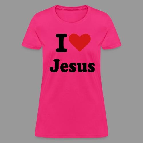 I love Jesus - Women's T-Shirt