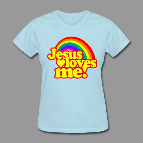 Jesus loves Me - Women's T-Shirt