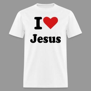 I love Jesus - Men's T-Shirt
