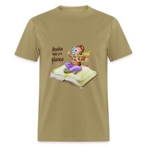 BOOKS TAKE YOU PLACES - Men's T-Shirt