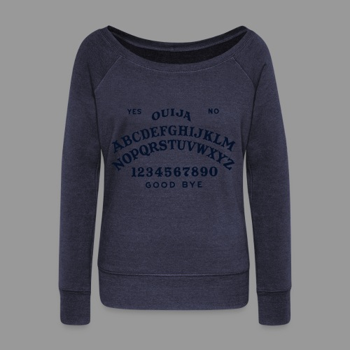 Talking Board - Women's Wideneck Sweatshirt