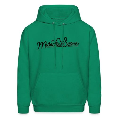 MusicFourScore Green Hoodie - Men's Hoodie