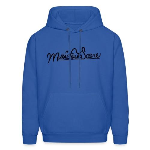 MusicFourScore Blue Hoodie - Men's Hoodie