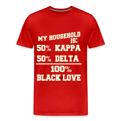 KAPPA and DELTA Love - Men's Premium T-Shirt