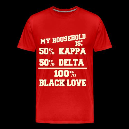 KAPPA and DELTA Love - Men's Premium T-Shirt