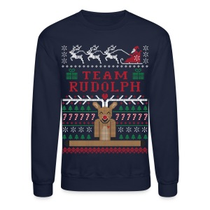 Rudolph Ugly Christmas Sweater - Crewneck Sweatshirt