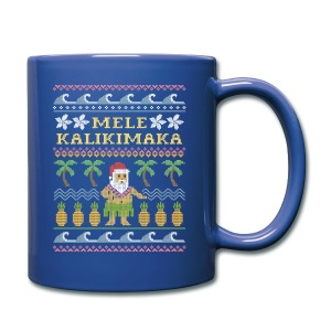 Mele Kalikimaka Ugly Christmas Sweater Mug - Full Color Mug