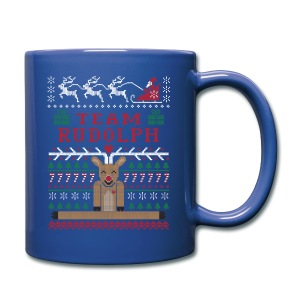 Rudoph Ugly Christmas Sweater mug - Full Color Mug