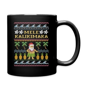 Elf Ugly Christmas Sweater - Full Color Mug