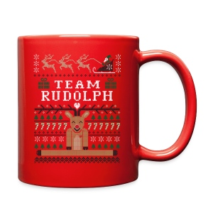Rudolph Ugly Christmas Sweater mug - Full Color Mug