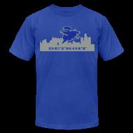 T-Shirts ~ Men's T-Shirt by American Apparel ~ Detroit Flying Pig