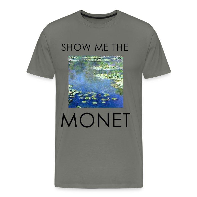 Show me the monet 1 t shirt spreadshirt for Talk texan to me shirt