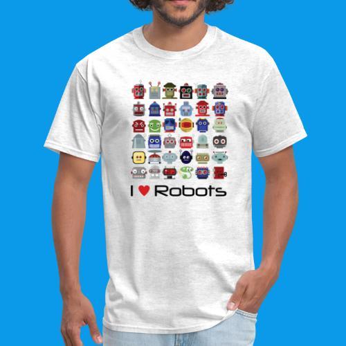 I Heart Robots - Men's T-Shirt