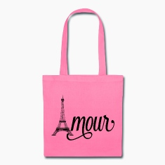 amour paris - love in french Bags & backpacks