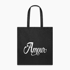 amour - love in french Bags & backpacks