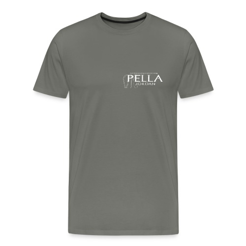 Logo T-shirt for the 2015 season of excavations at Pella, Jordan (male) - Men's Premium T-Shirt