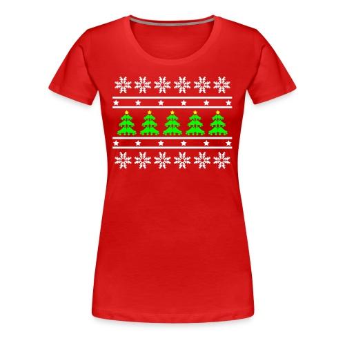 Derby Christmas Ladies Tee - Women's Premium T-Shirt